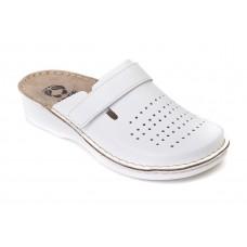 Модель 160102 Anthemis обувь медицинская перфорированная белая