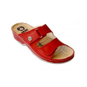 Модель 207 обувь открытая с гелиевым элементом красная