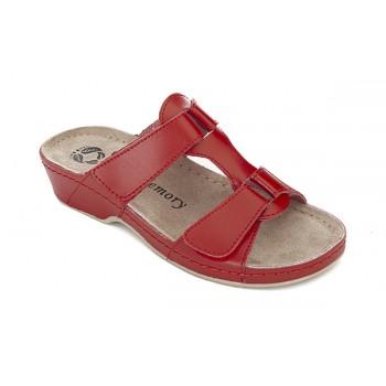 Модель 242 обувь открытая с гелиевым элементом красная