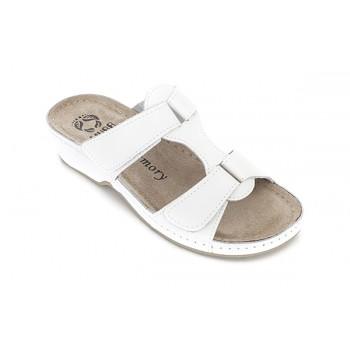 Модель 242 обувь открытая с гелиевым элементом белая