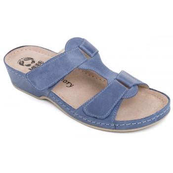 Модель 242 обувь открытая с гелиевым элементом синяя