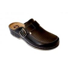Модель 250 Azalia обувь с массажной стелькой ортопедическая черная