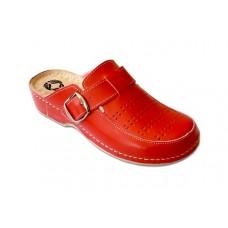 Модель 250 Azalia обувь с массажной стелькой ортопедическая красная