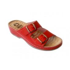 Модель 252 обувь открытая с гелиевым элементом красная