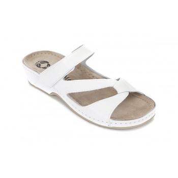 Модель 276 обувь открытая с гелиевым элементом белая