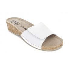 Модель 283 обувь открытая с гелиевым элементом белая