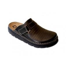Модель 30061 обувь Galax для врачей черная