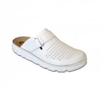 Модель 30061 обувь Galax для врачей белая