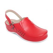 Модель 779 обувь для медицинских работников красная