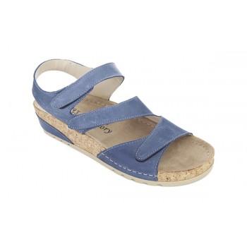 Модель 8817 обувь открытая с гелиевым элементом синяя