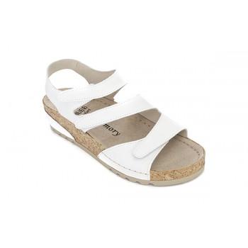 Модель 8817 обувь открытая с гелиевым элементом белая