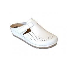 Модель 8888 Katy обувь белая для медиков с перфорацией MUBB