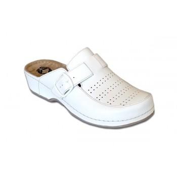 Модель 250 Azalia обувь с массажной стелькой ортопедическая белая