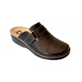 Модель 160102 Anthemis обувь медицинская ортопедическая черная